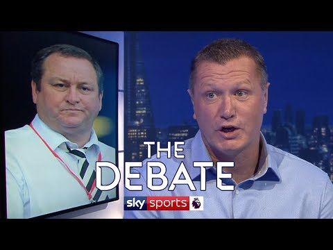 Steve Howey criticises Mike Ashley & defends Rafael Benitez and Newcastle United   The Debate