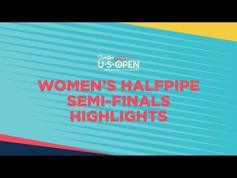 Top Runs: Chloe Kim & Yuto Totsuka Qualify First in 2019 Burton U·S·OPEN Halfpipe Semi-Finals