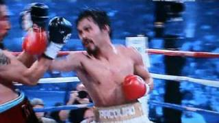 BEST BITS OF THE MANNY PACQUIAO v ANTONIO MARGARITO NOV 2010