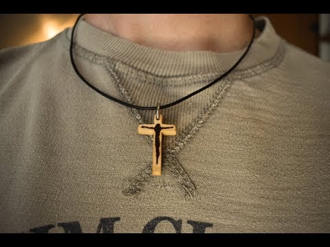 Making Wooden Pendant | Woodworking Project | Scroll Saw Pendant | Woden Necklace | Pyrography