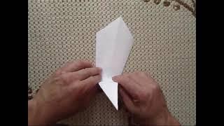 origami catapult. оригами катапульта.