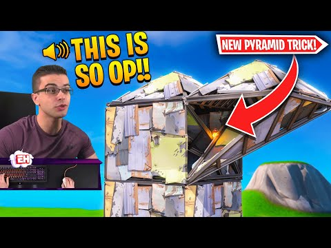 NEW Double Pyramid Peaking Strategy In Fortnite!