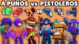 GUNSLINGERS vs FISTED BRAWLER | WHAT IS THE BEST TRIO of WEAPONS? | BRAWL STARS OLYMPICS