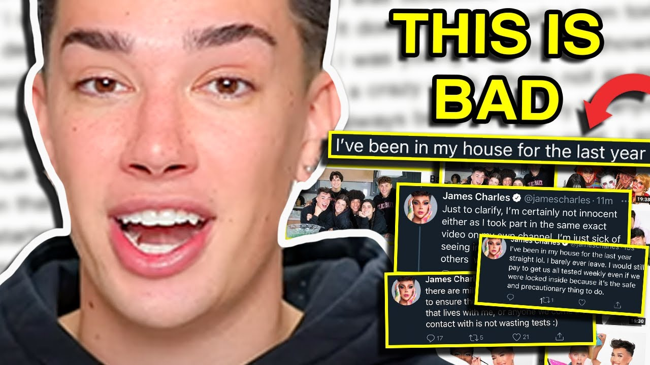 James Charles Is Facing Backlash For His Pregnancy Photo Shoot