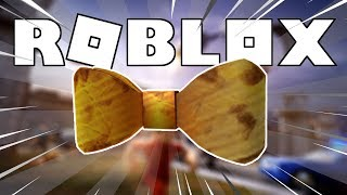 HOW to WIN the GOLDEN TIE on ROBLOX! (DIY Cardboard Bow Tie) | Bloxys 2019 Event