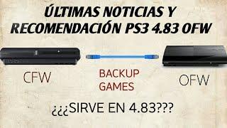 PS3 4.83 NOVEDADES Y RECOMENDACIONES