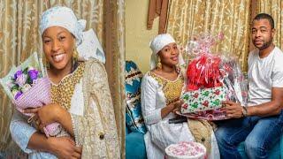 Sani danja yayi wa Mansurah Matarsa ktautar bazata a bikin birthday din ta