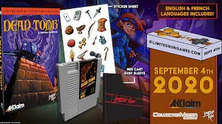 We're Teaming Up with Limited Run Games to Release Dead Tomb for the NES! - Gamester81