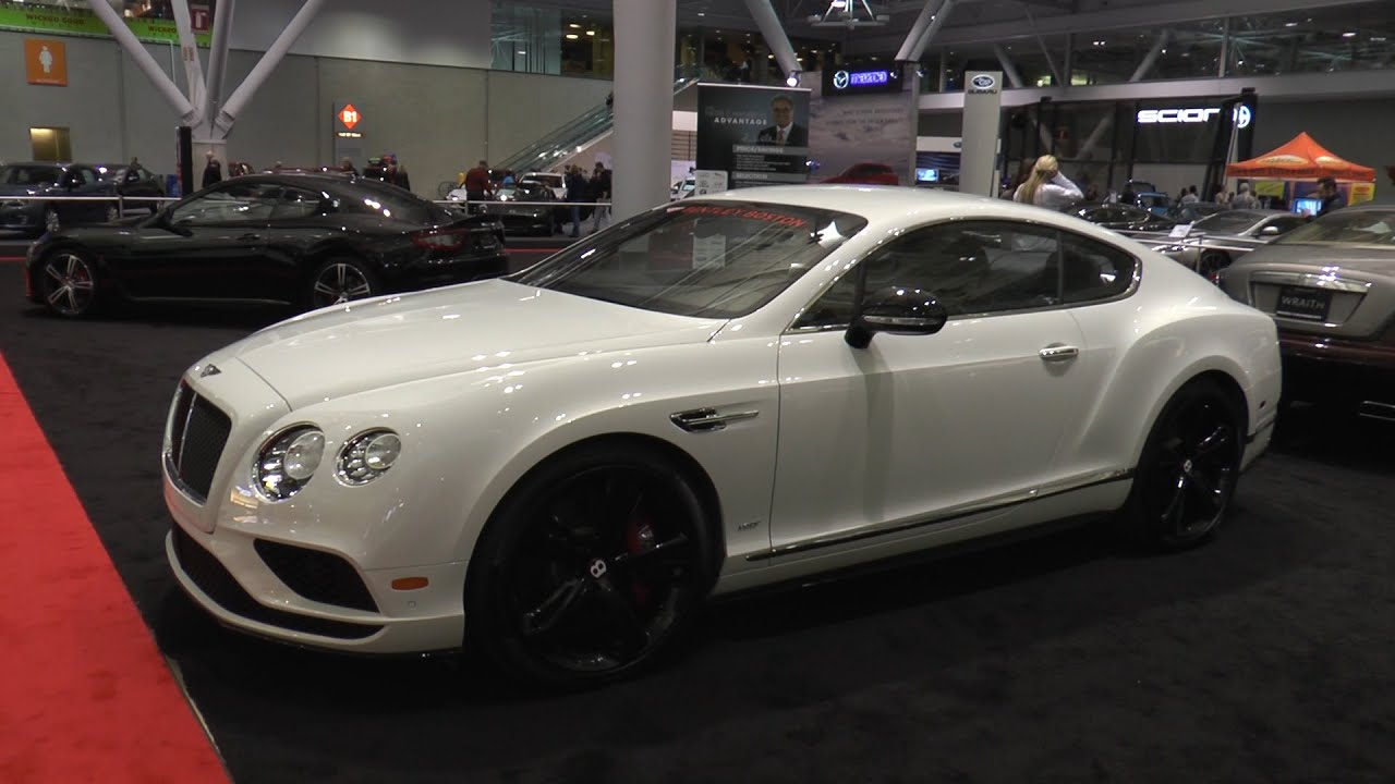 2016 Bentley Continental GT V8 S - New England International Auto ...