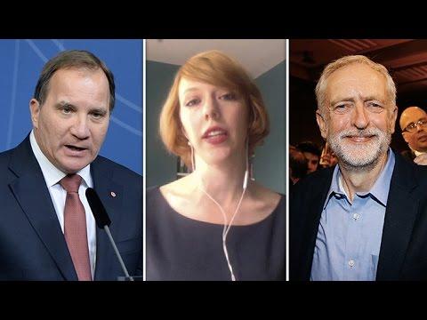 Löfven lär undvika Corbyn – Katrine Marçal om Labourvalet