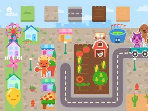 Sago Mini Town Playthrough Video