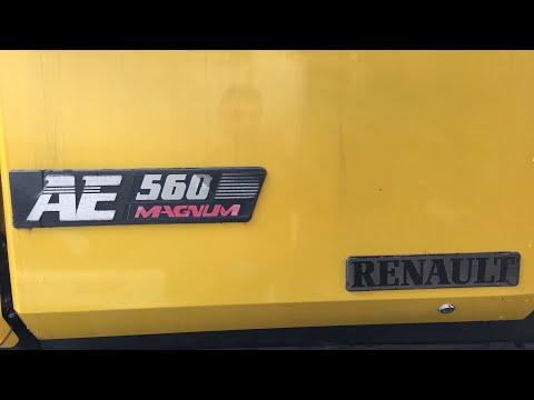 Coldstart Truck V8 after two months Renault Magnum 560 Mack E9 V8 open pipe turbo whistle