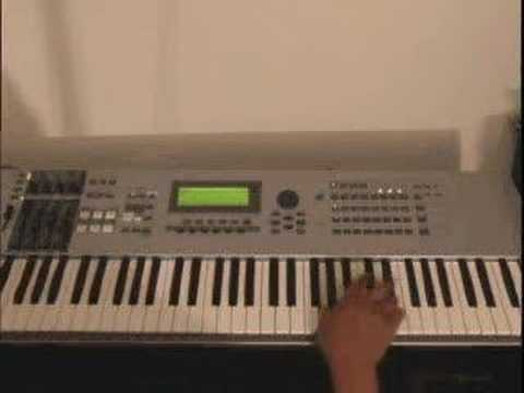 Free Gospel Piano Lessons - Now Behold the Lamb, by Kirk Franklin - GospelMusicians