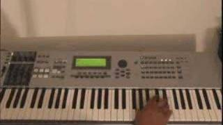 Free Gospel Piano Lessons - Now Behold the Lamb, by Kirk Franklin - GospelMusicians.com