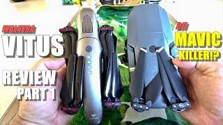DJI MAVIC KILLER?! - WALKERA VITUS Drone Review - Part 1 - [Unboxing, Comparison, Inspection, setup]