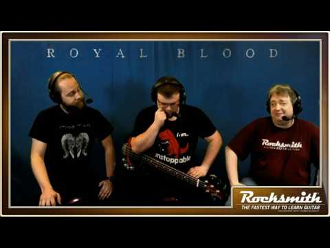 Rocksmith Remastered -- Royal Blood -- Live from Ubisoft Studio SF