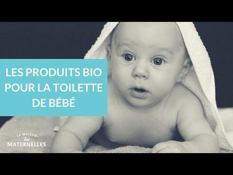 les produits bio pour la toilette de b 233 b 233