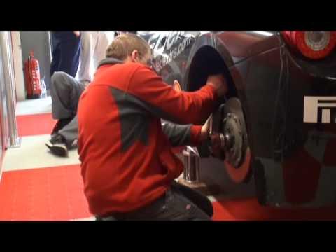 Dextra Racing: Ferrari 458 Challenge - Silverstone, UK. September 2012 720p HQ