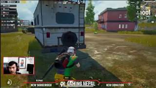 🔴 PUBG MOBILE  LIVE BY 4K GAMING NEPAL,CROWN GAMEPLAY
