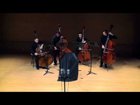 Coldplay Viva la Vida for Double Bass Quartet - Jason Scott Phillips