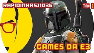 Games da EA na E3, Jurassic World e mais - Notícias - NERD RABUGENTO