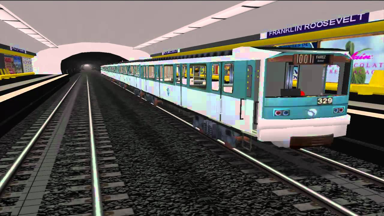 msts metro parisien