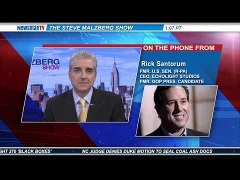 Newsmax: Rick Santorum: Hillary Is