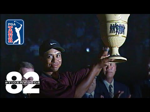 Tiger Woods Wins 2000 WGC-NEC Invitational   Chasing 82