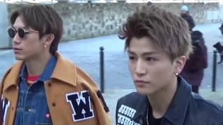 Takanori Iwata & Naoto J Soul Brothers from Exile Tribe @ Paris 19 ...