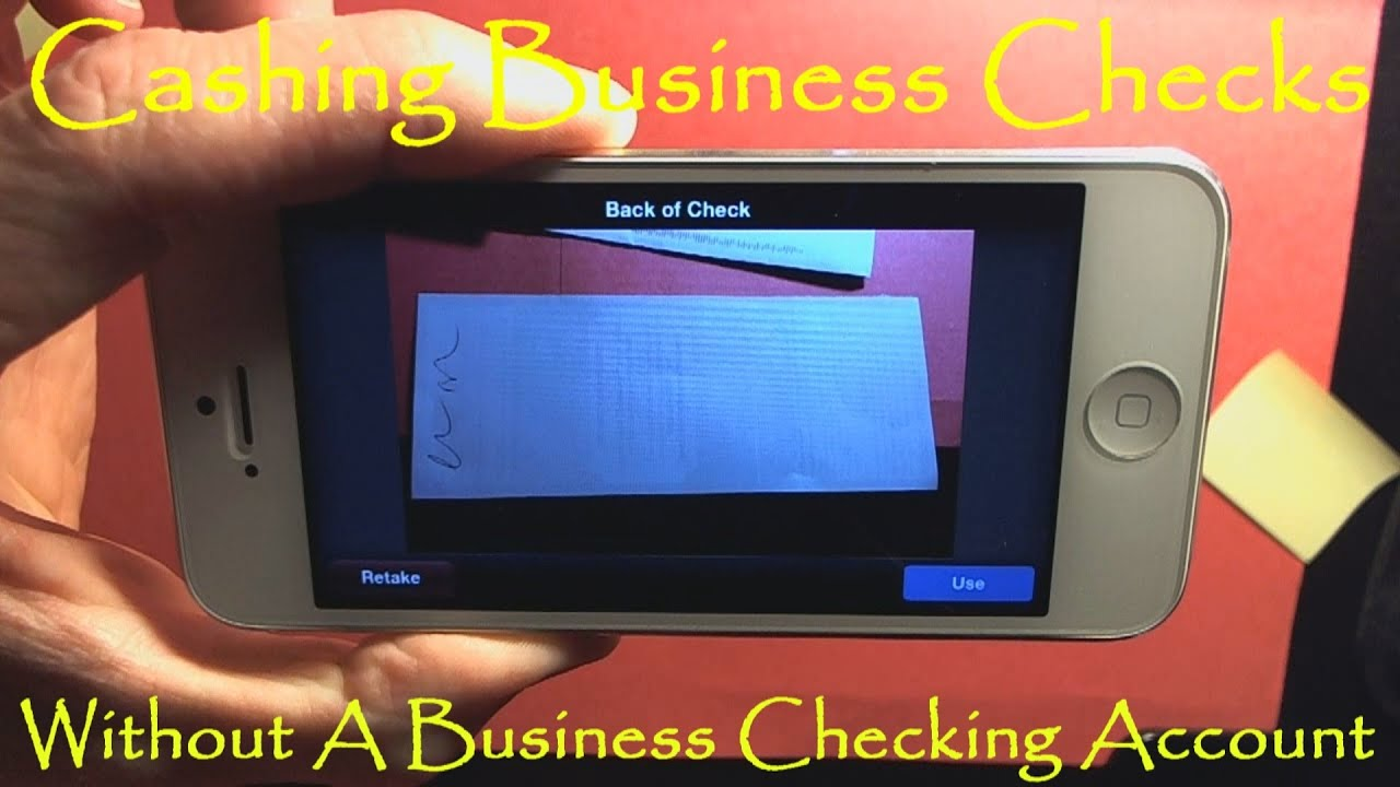 Cashing Personal Check Without Bank