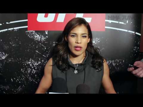 Full media scrum: Julianna Pena ahead of UFC on FOX 23
