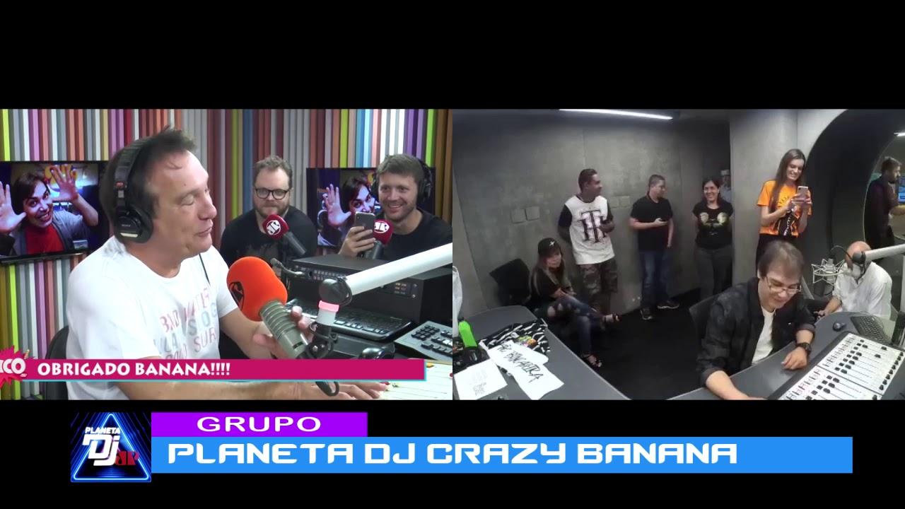 Emílio do Pânico se despede do Banana - Planeta Dj 22.02.2019