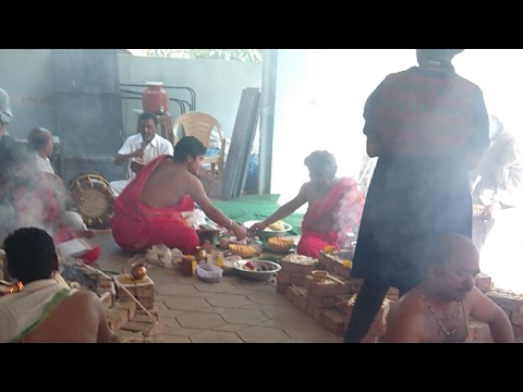 Sathachandi Homam Day 3