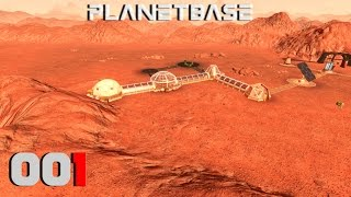 PLANETBASE ► [001] Rimworld trifft Banished ► Let's Play Planetbase German Gameplay
