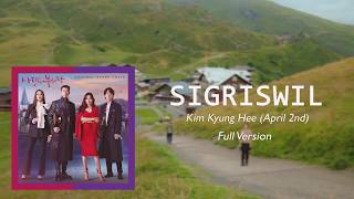 Cover images Kim Kyung Hee (April 2nd) - Sigriswil (Full Version) Crash Landing on You OST Part 12 Lyrics