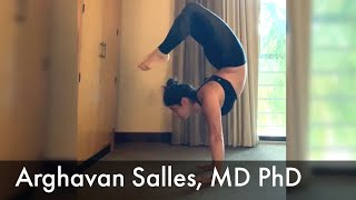 Arghavan Salles, MD, PhD:  On Yoga and Quieting Mind Chatter