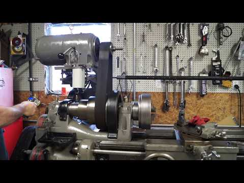 Pratt And Whitney Lathe Restoration #15  ( Spindle Run In)