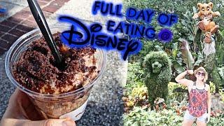 DISNEY DAY 3 - FULL DAY OF EATING VEGAN EPCOT