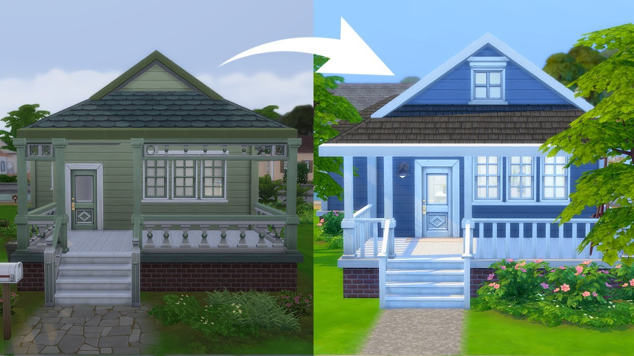 How to Transform a House on a Budget in The Sims 4 thumbnail