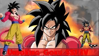 Unboxing Goku SSJ4 Manga Dimension