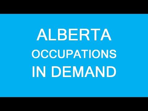 Alberta PNP Occupations In Demand! Several Important NOCs