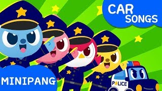 Police Car Song | Miniforce | Car Songs | Mini-Pang TV Kids Song