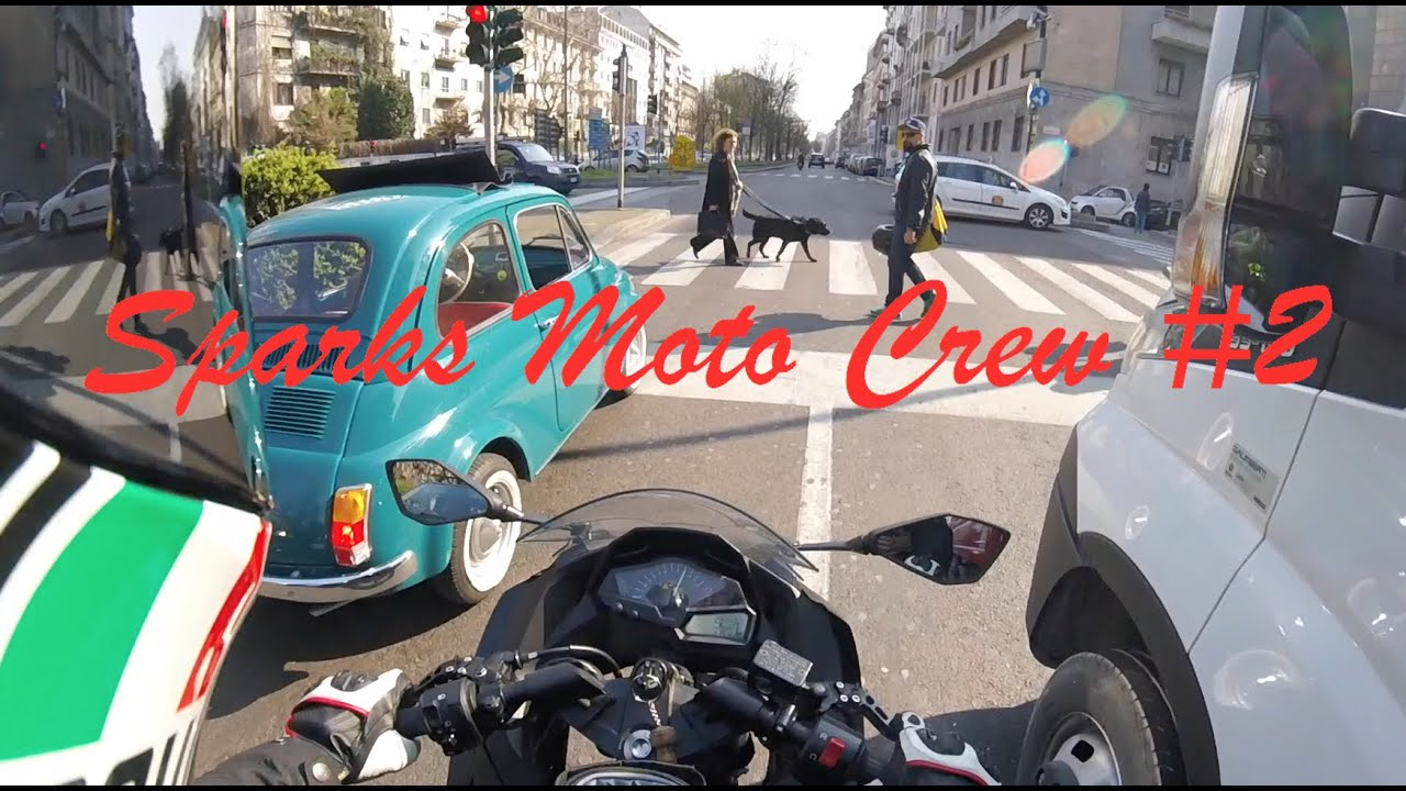 ninja 300 vs fiat 500 sparks moto crew 2 youtube. Black Bedroom Furniture Sets. Home Design Ideas