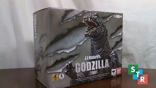 S.H. MonsterArts Godzilla (2001) Unboxing