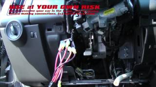 Ford Edge Remote Start Uncut Installation   Use At Your Own Risk