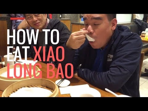 How To Eat Xiao Long Bao (Eat Like a Man edition)