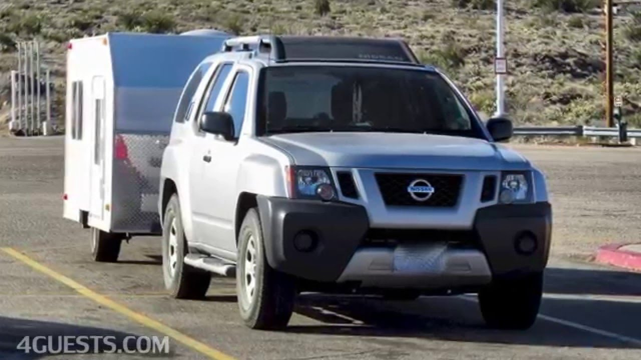 Nissan Xterra With Small Camper Trailer Youtube