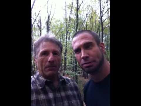 "Robert Deniro and John Travolta's stunt doubles behind the scenes ""Killing Season"""