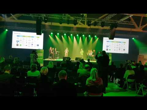 Invest for Excel pitch by CEO of DataPartner, Jens Westerbladh at business growth event in Finland