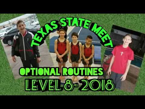 Texas State Meet- Level 8/ 2018